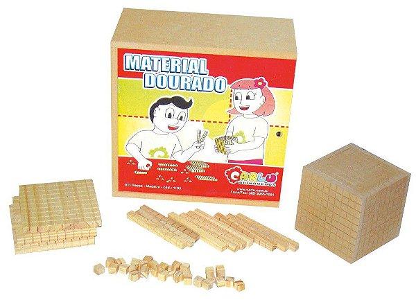 Material Dourado (611 peças) (Caixa de Madeira)
