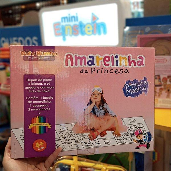 Amarelinha Das Princesas - Pinta e Apaga