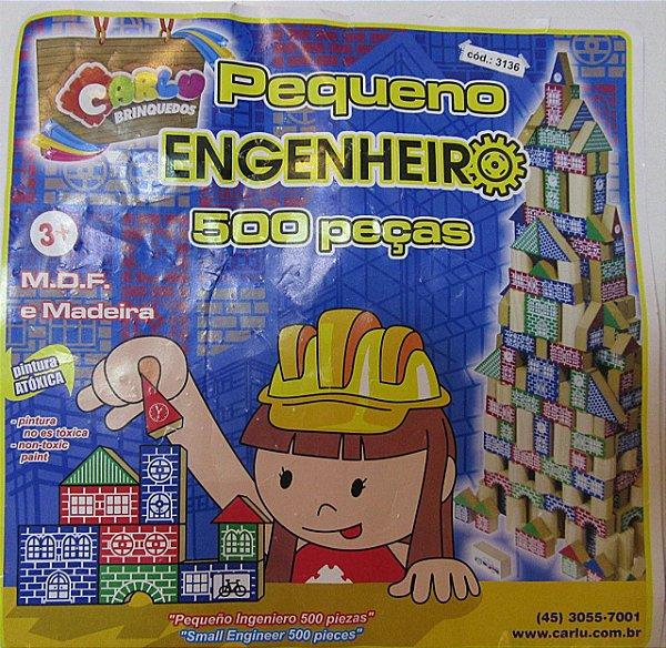 Pequeno Engenheiro 500 peças