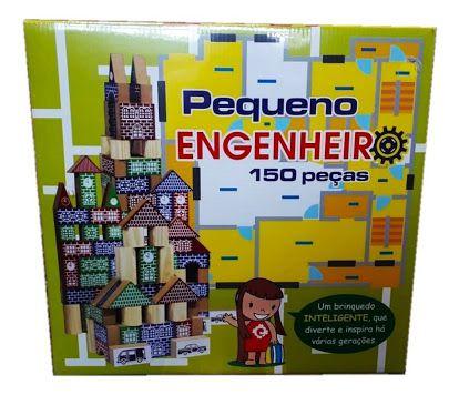 Pequeno Engenheiro 150 peças