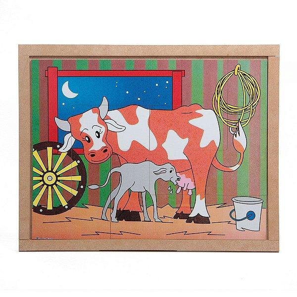 Quebra Cabeça - Vaca
