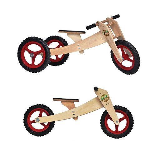 Triciclo de equilibrio woodbike 3 em 1