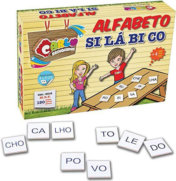 Alfabeto Silábico 150 Peças