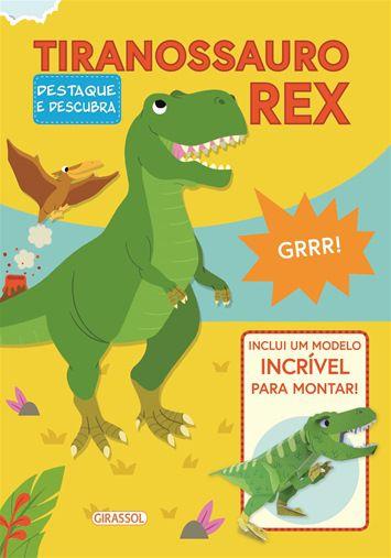 Destaque e descubra - Tiranossauro Rex