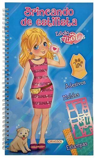 Brincando de estilista: Edição Filhotes (Azul)