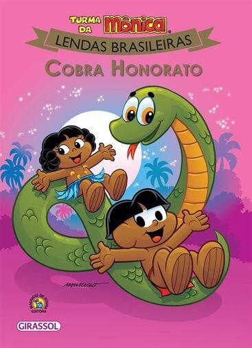 Turma da Mônica Lendas brasileiras - Cobra Honorato