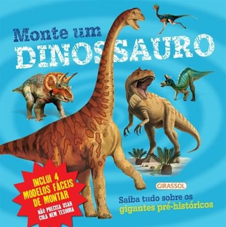 Monte um dinossauro