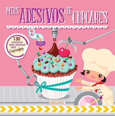 Meus adesivos de cupcakes