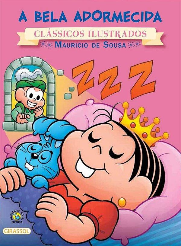 Turma da Mônica Clássicos Ilustrados - A Bela Adormecida