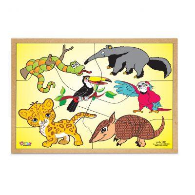 Quebra-cabeça - Animais da Fauna Brasileira