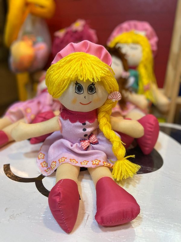Boneca de Pano - Nina