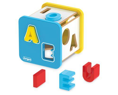 Cubo Didático - Letras