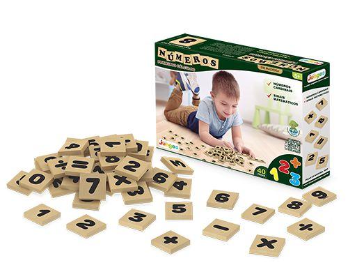 Números - 40 peças