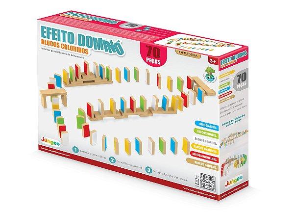 Efeito Dominó - 70 peças