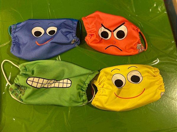 Conjunto de Máscaras de Tecido