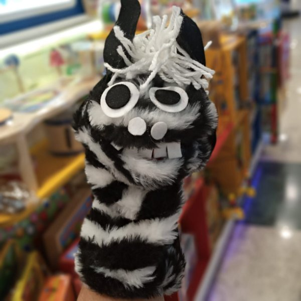 Fantoche Mini Einstein - Zebra