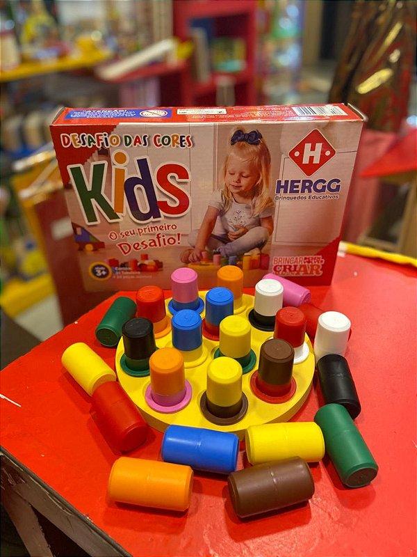 Desafio da Cores kids