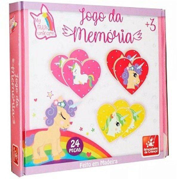 Jogo da Memoria - Unicornio