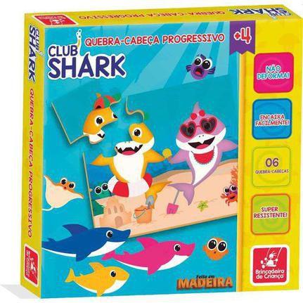 Quebra cabeça progressivo - Club Shark
