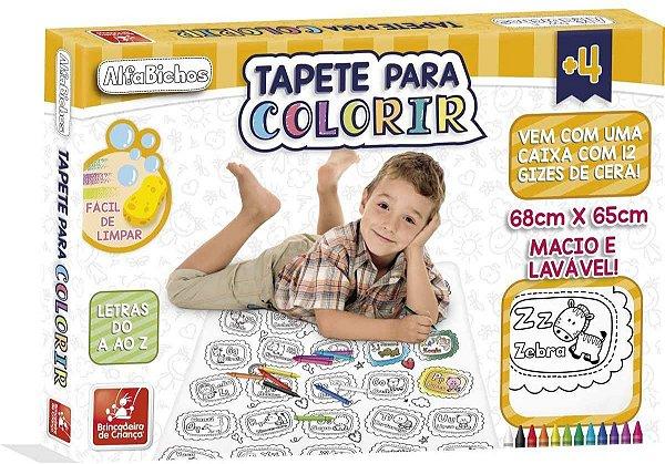 Tapete para colorir - Alfabichos