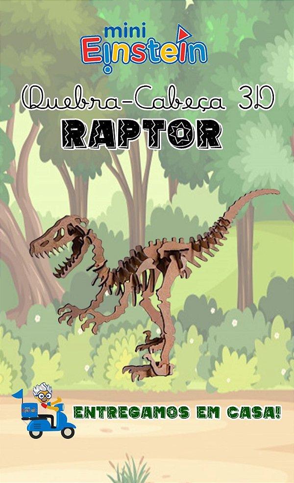 Quebra cabeça 3D Raptor