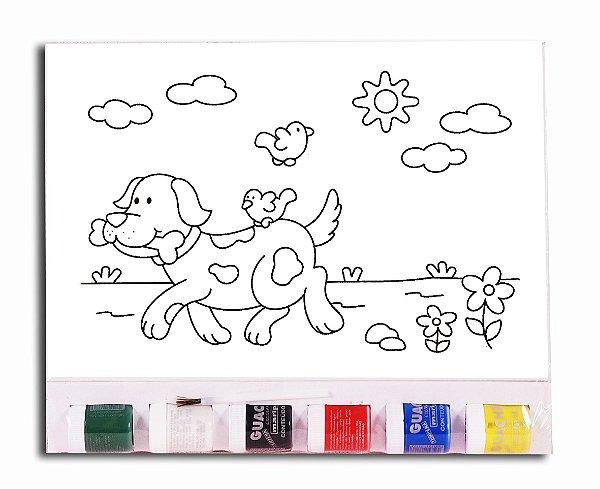 KIT Pintura Infantil  – Cachorro