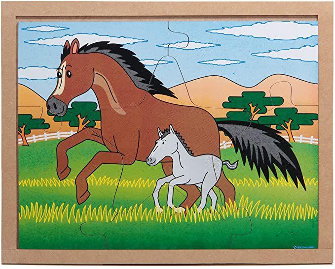 Quebra-cabeça - Cavalo e seu Filhote