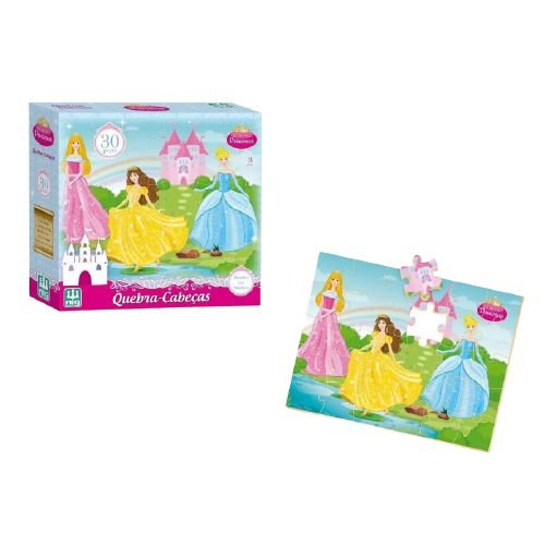 Quebra Cabeça - Princesas 30pç