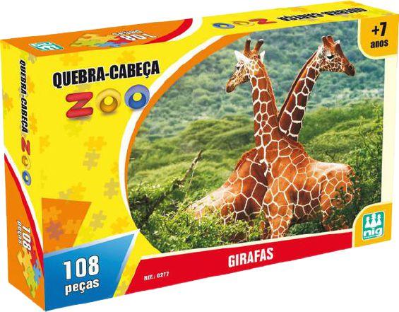 Quebra Cabeça - Zoo Girafa 109pç