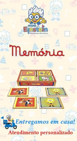 Jogo da Memoria - Desenho Animado