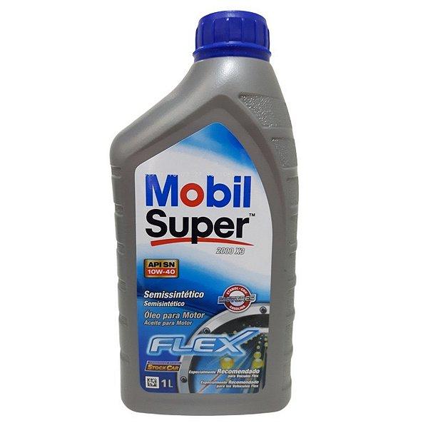 Óleo Mobil Super Flex Semi Sintético 10w 40