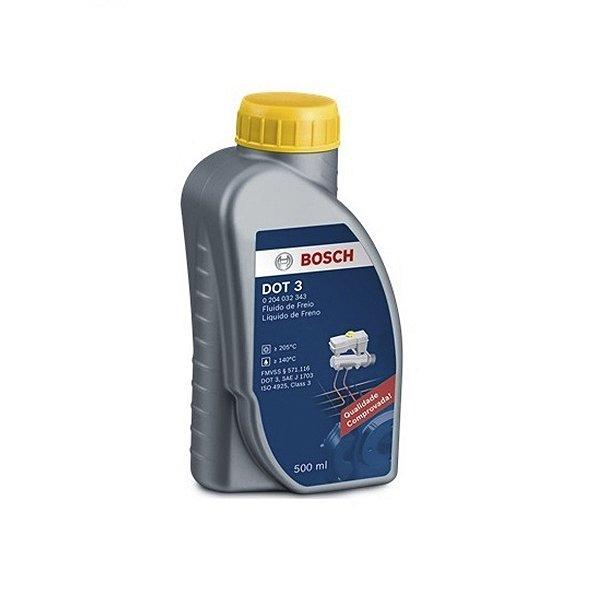 Óleo de Freio Dot 3 Bosch 500ml