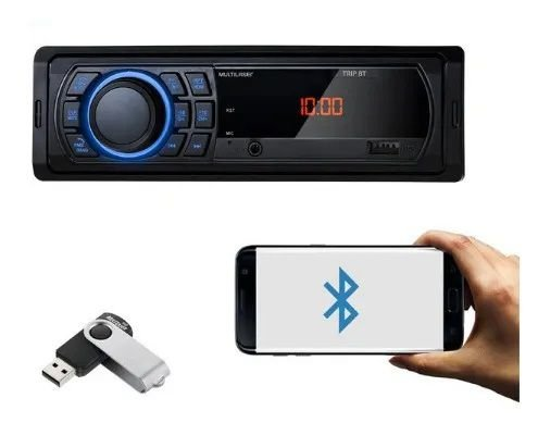 Radio Mp3 Player Multilaser Trip Bluetooth Com Pendrive