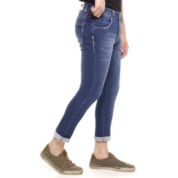 calça jeans prs super skinny lixado com bigode laser