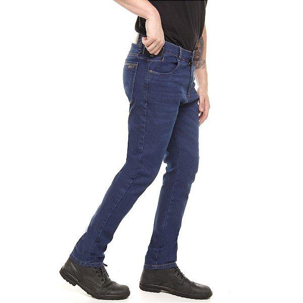 calça jeans prs skinny blue com bigode laser