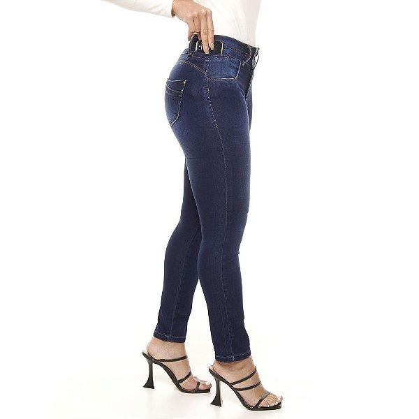 calça jeans prs skinny estonada