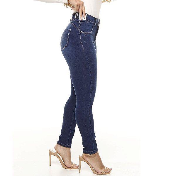 calça jeans prs skinny used