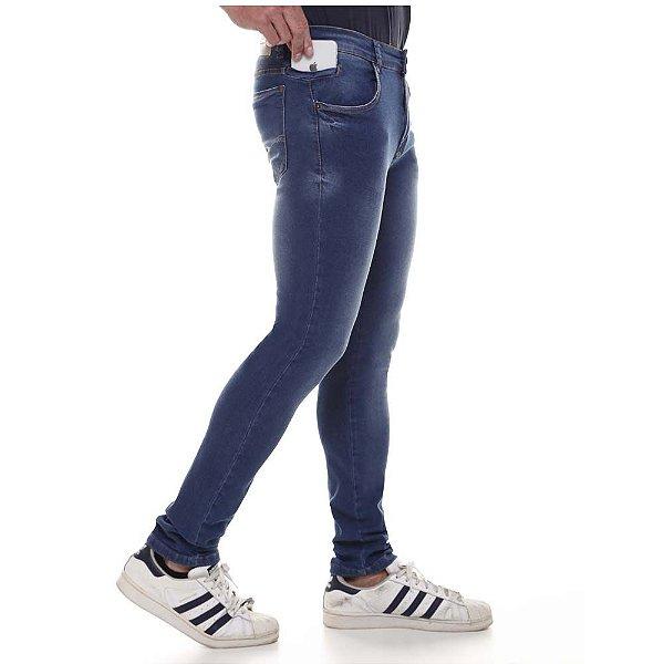 calça jeans prs skinny basic