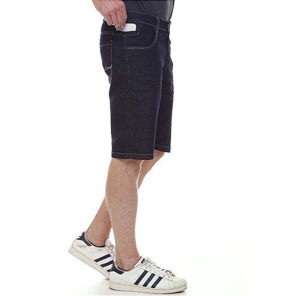 bermuda jeans prs azul amaciada