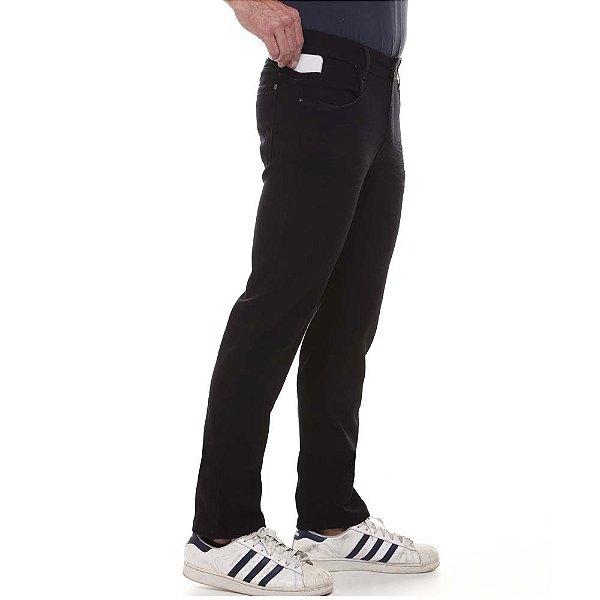 calça jeans prs comfort preta