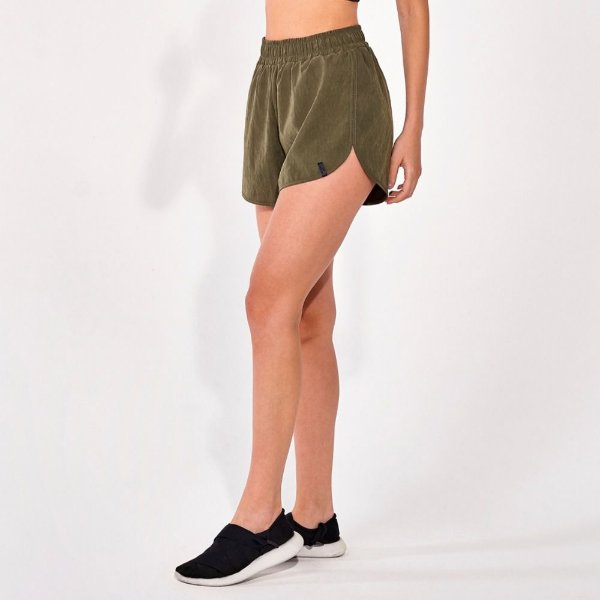 Short Alto Giro Perfoming Touch Essential Verde Kalamata 2111031