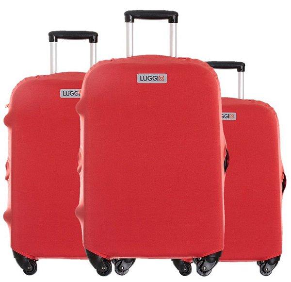 Kit Capas para Malas Basic Vermelha