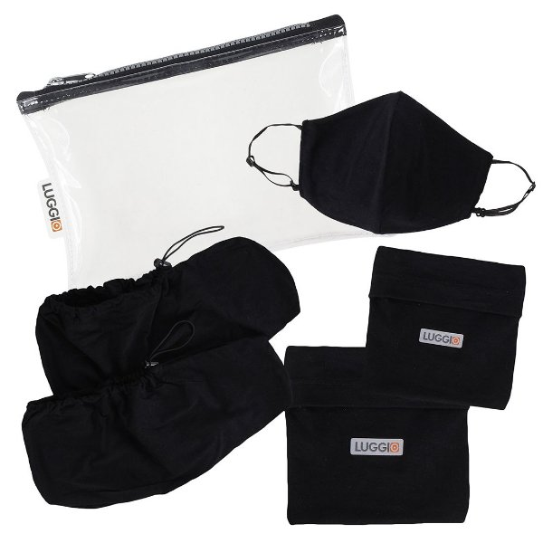 Kit Protect Luggio com Propé e Máscara Antiviral Infantil- 3 peças