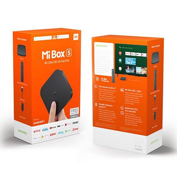 Mi Box S  4K Android TV HDMI USB