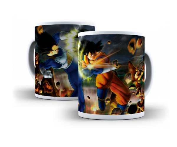 Caneca Goku VS Vegeta 04