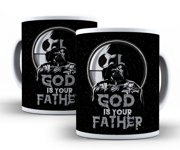Caneca God Is our Father