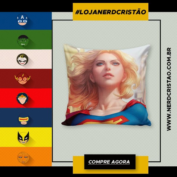 Almofada SuperGirl