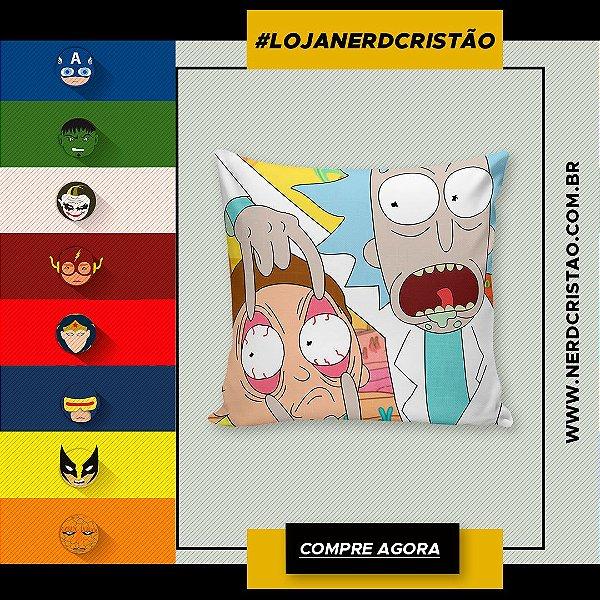 Almofada Rick and Morty