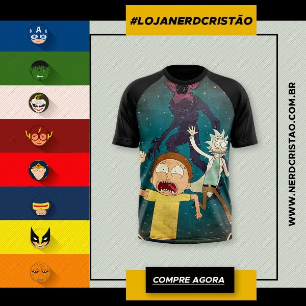 Camisa Rick and Morty