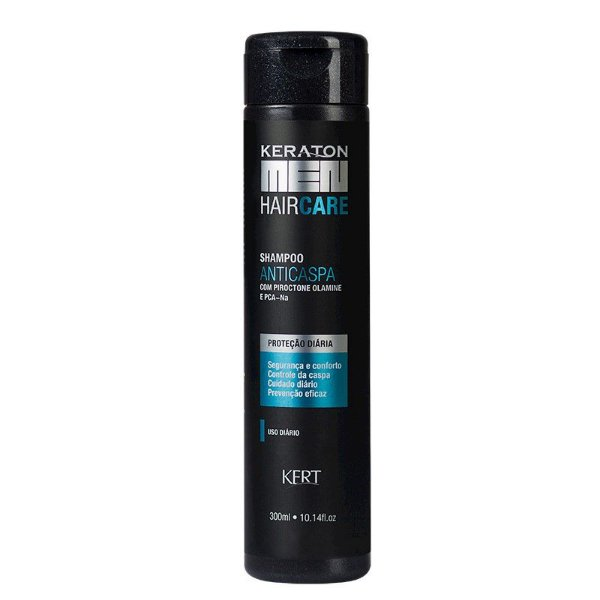 Shampoo Keraton Men-Anticaspa-Piroctone Olamine e PCA-Na